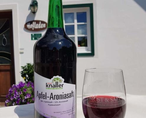 Obstbau Knaller Apfel-Aroniasaft