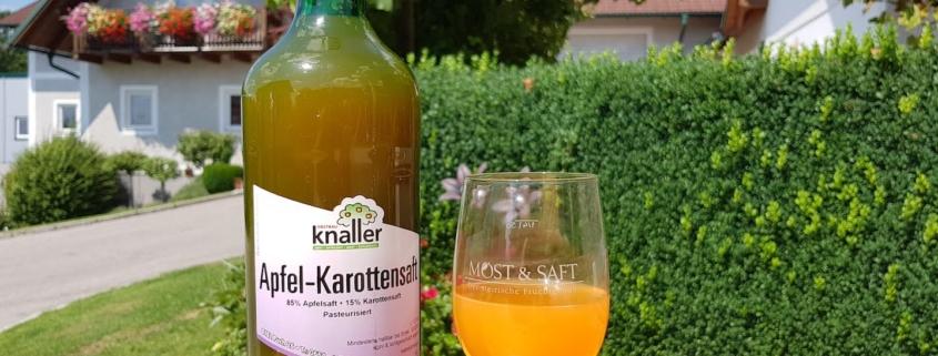 Obstbau Knaller Apfel-Karottensaft