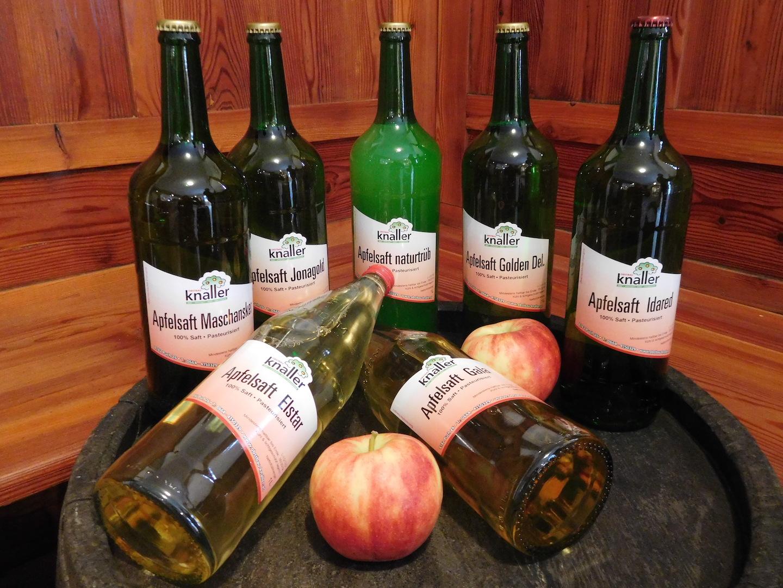Obstbau Knaller Apfelsäfte
