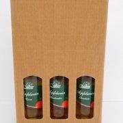 Obstbau Knaller Geschenk Kartonverpackung Apfelweine