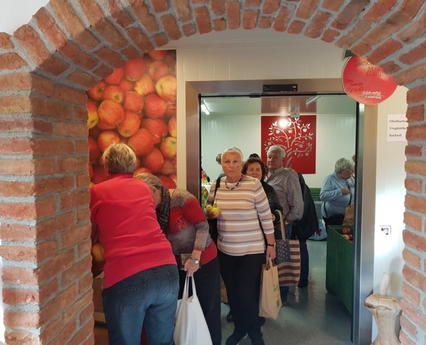Obstbau Knaller Kühlraum Kunden