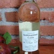 Obstbau Knaller Qualitäts-Apfelwein Rückseite